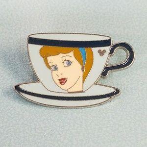 Cinderella tea cup Disney pin Hidden Mickey